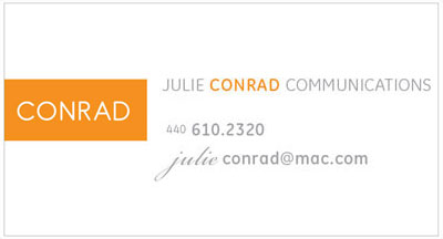 Julie Conrad Business Card